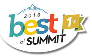 1st Place Best of Summit 2018